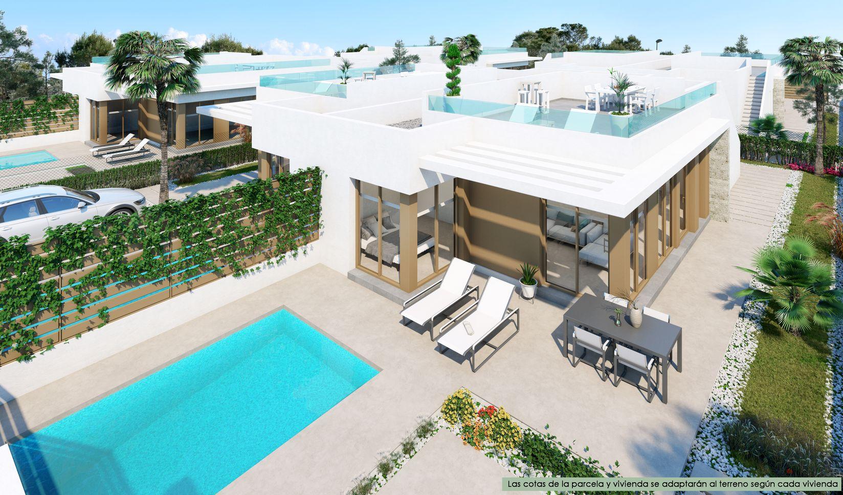 Maison 3 façades avec piscine en Espagne