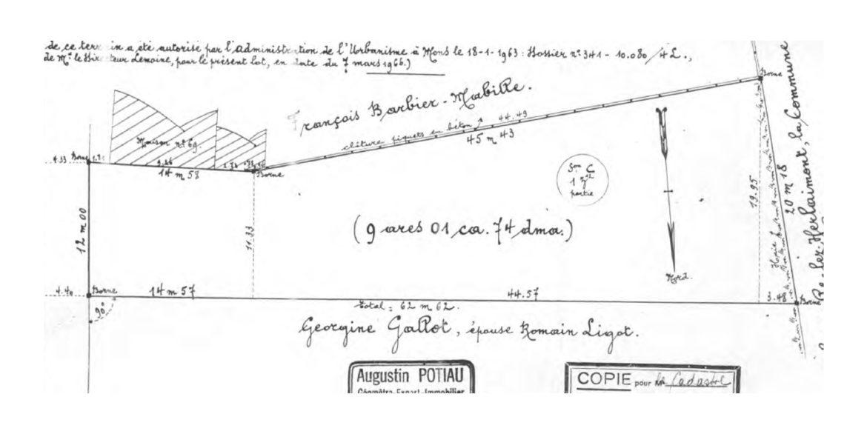 plan geometre